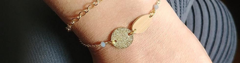 bracelet bonnie par Idyllic bijoux