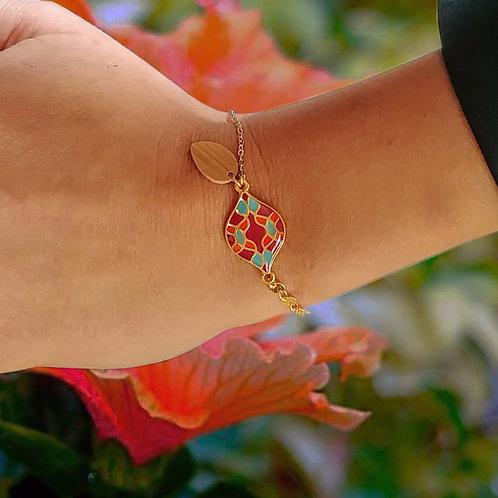 Bracelet Maia rouge