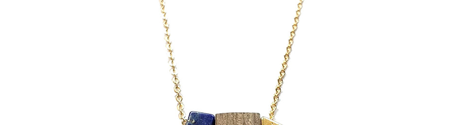 collier cubik par Idyllic Bijoux
