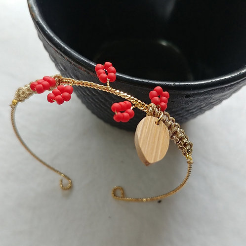 Jonc branche rouge
