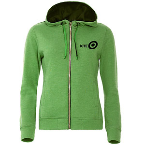 Full Zipp Ladies Green Melee