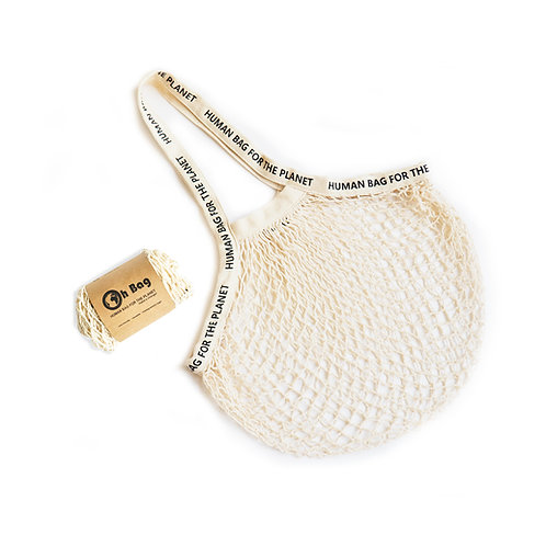 String Bag #1 - Human Bag for the Planet