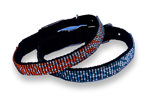 Two colour blend beaded Collar