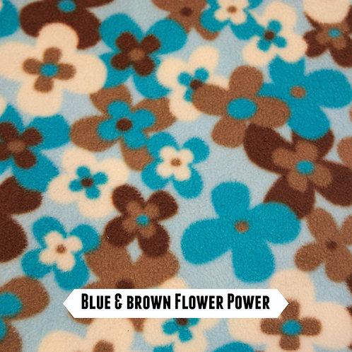 Flower Power Fleece Embroidered Leads