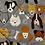 Thumbnail: Multi-dogs on Grey Rosette Holder
