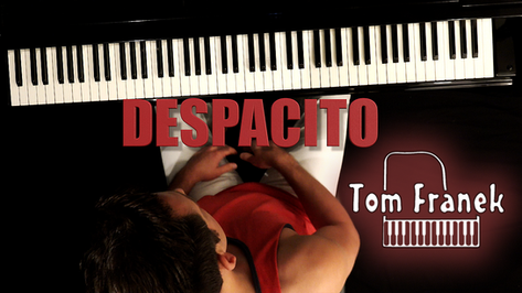Despacito - Tom Franek (piano cover)