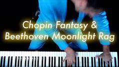 Chopin Fantasy Impromptu & Beethoven Moonlight Sonata Rag