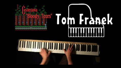 Bloody Tears - Tom Franek (piano cover)