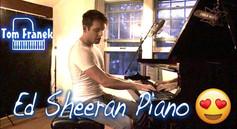 Ed Sheeran Medley - Tom Franek (piano cover)
