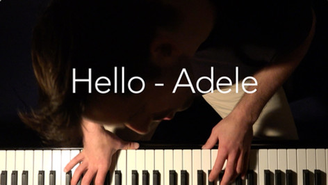 Hello - Tom Franek (piano cover)