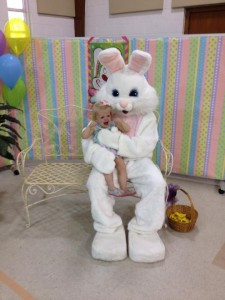 My sweet friend SuSu did not care for the Easter Bunny. I think this picture captures the spirit of parenting perfectly, though. All dressed up with potential for perfection of perfect disaster. And we wouldn't have it any other way.