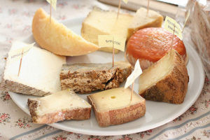 Cheese plates. Gorgeous, stinky cheese plates. Image from http://www.bonappetit.com/