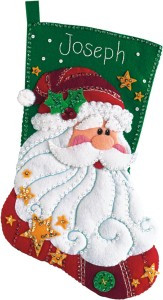 This. This is the stocking I will be attempting for the Hubs this year. I only have 68 days left!