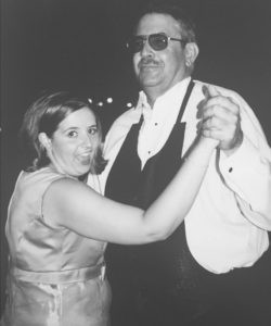 Here I am, dancing with my dad. This is one of my favorite pictures of the two of us, and I miss him terribly.
