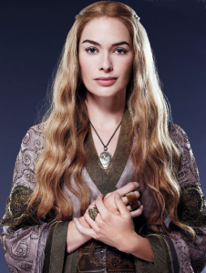 """""""I would do anything for you. Anything to keep you from harm. I would burn cities to the ground. You are all that matters."""" Cersei Lannister, Game of Thrones image from GameofThroneswikia.com."""