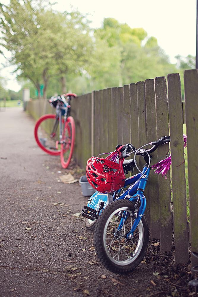 1. Enjoy Family bike rides