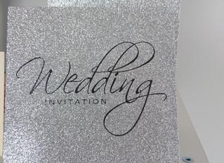 Absolutely Stunning New Glitter invitations