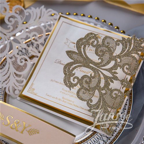 Tanya Lasercut - Champagne Gold