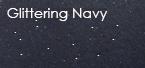 glittering navy