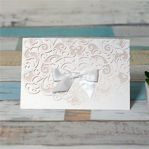 Gillian Laser Cut Invitiation
