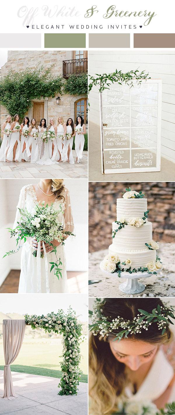 2018 Wedding Colours