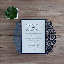 Navy Wedding Stationery Ireland