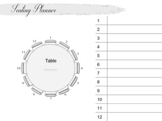 Table Plan Seating Planner