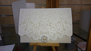 Ivory Wedding Stationey Ireland