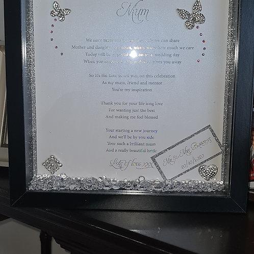 Personalised Foil Print Frame