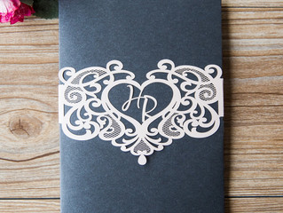 Embellishments available to add to your stationery
