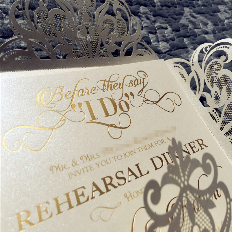 Gold Foil Stamping