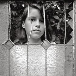 Molly Behind Window