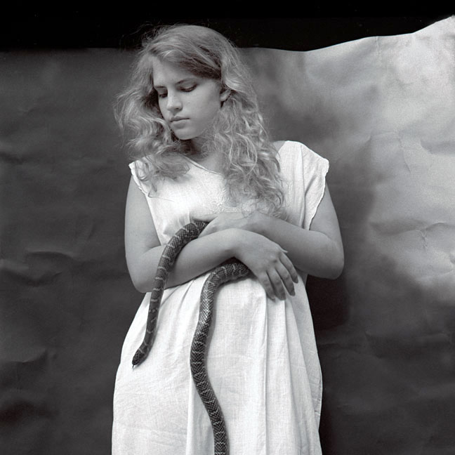 Eliza with Snake