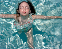 Libby in the Pool
