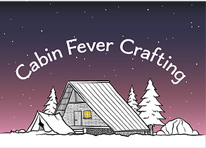 20.CabinFeverCrafting.Plain_US Postcard