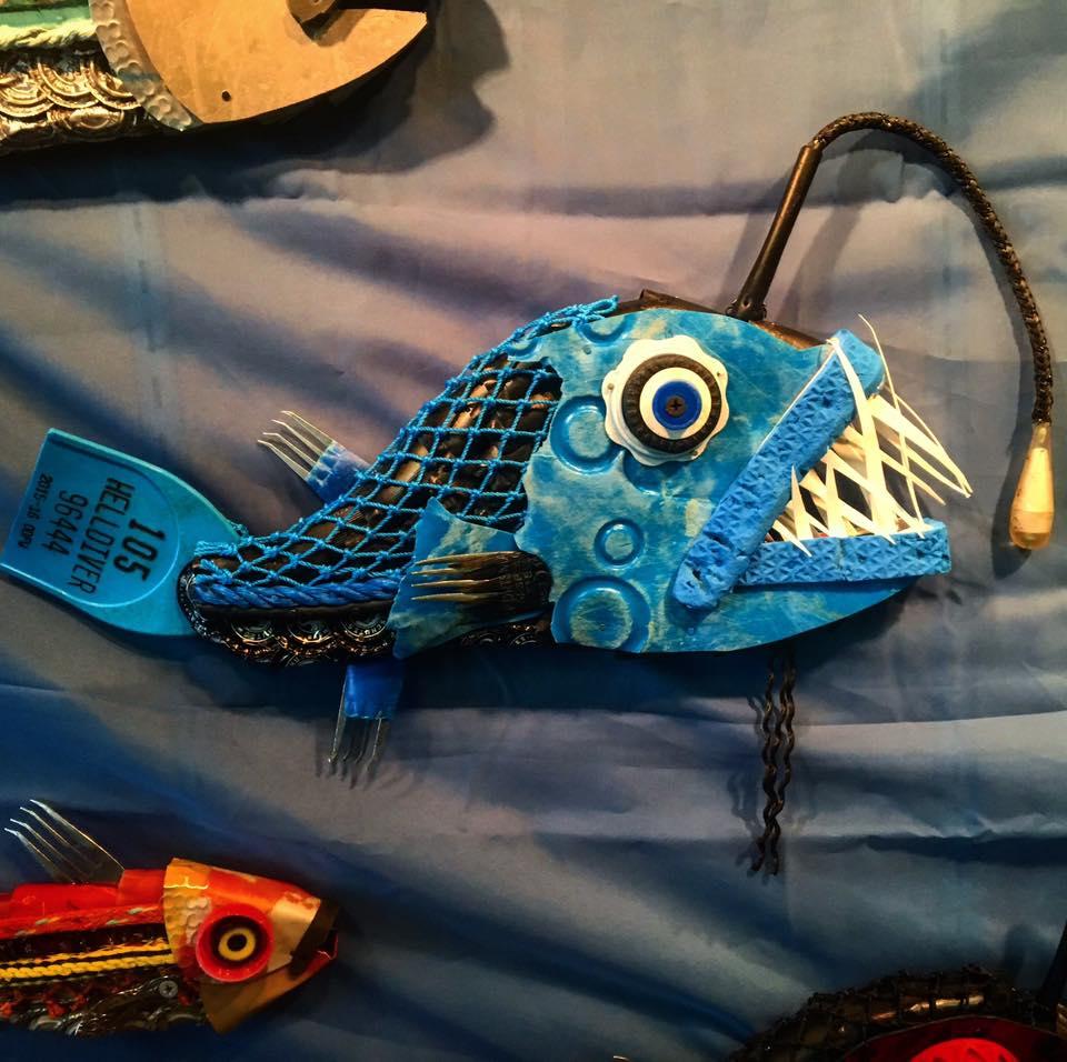 Marine Debris Angler Fish