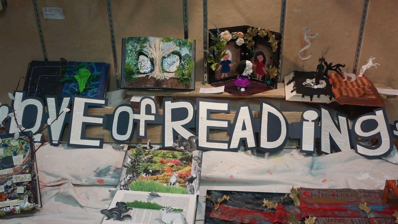 Altered Books on Exhibit