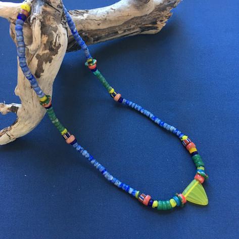 Blue Jeans Necklace