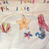 Created by Serenity Simeonoff, kindergar