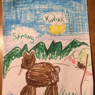 Created by Abigail McElwain, kindergarte