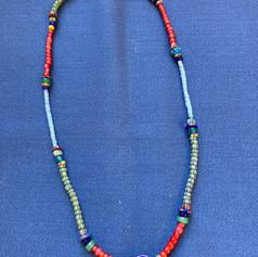 Chevron Bead Necklace