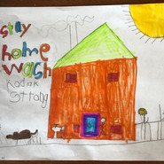 Created by Evan Brown, kindergarten