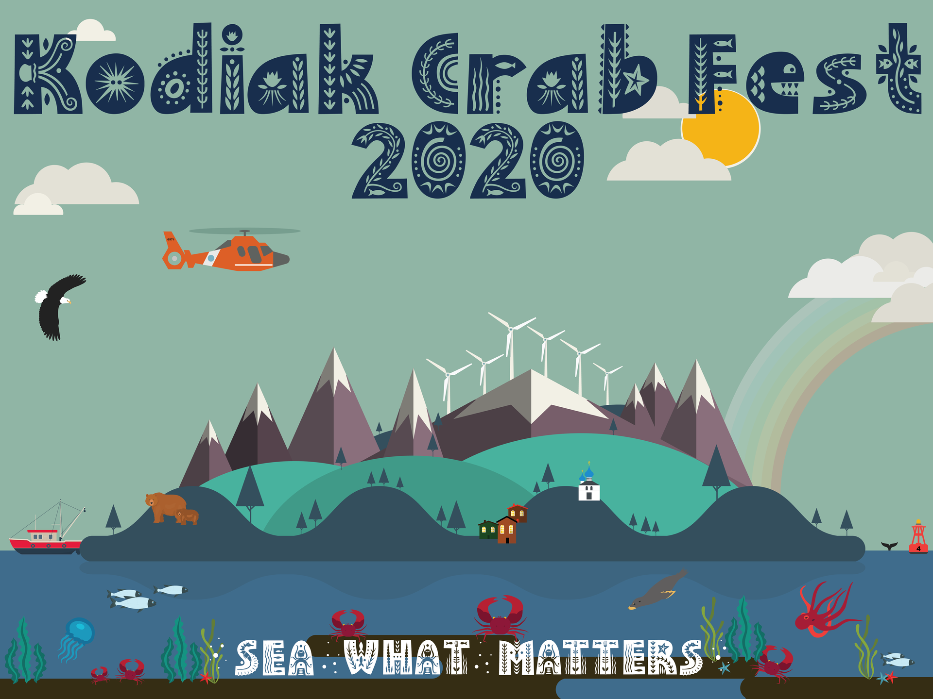 2020 Crab Festival Poster