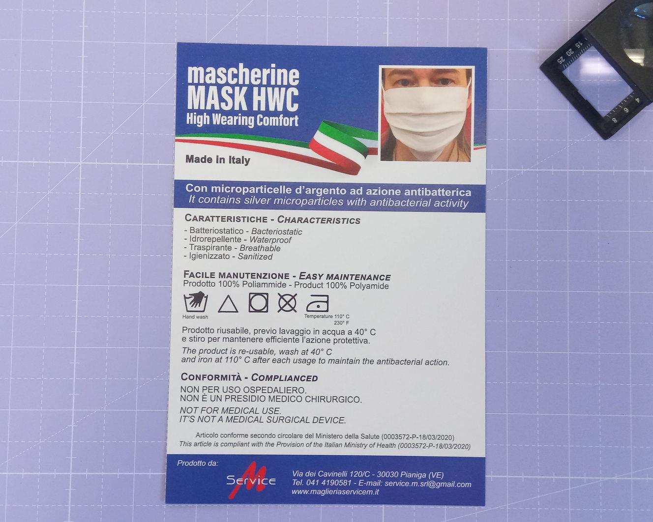 Grafica e realizzazione volantino Service M a 4/0 colori su carta patinata opaca