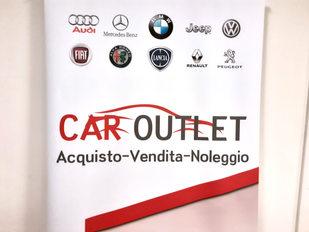 Grafica e realizzazione Roll-up Car Outlet formato 85x200 cm