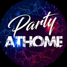 Studio e realizzazione logo per discoteca virtuale PartyatHome