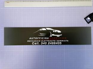 Pannello Forex 5 mm Autofficina Bozzolan