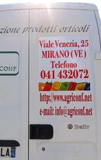 Realizzazione adesivo coprente restyling furgone