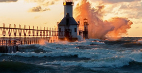 Lighting the way to the Shores of Michigan