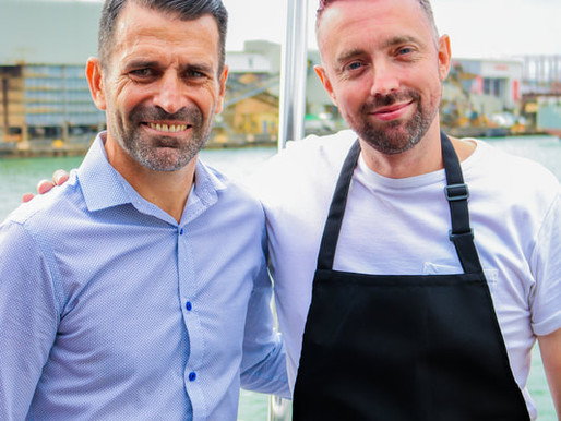 Jay Geddes and Francis Benali announce new river dinner cruise for cancer research UK